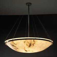Chandelier Lumenaria 48inch Round Bowl Pendant With Ring Sashico Bowl Pendant Lighting Bellacor