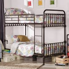 Giselle Antique Dark Bronze Graceful Lines Iron Metal Bunk Bed iNSPIRE Q  Junior - Free Shipping Today - Overstock.com - 17494113