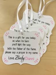 Baby Bear Baby Shower Favor TagsBaby Shower Tag