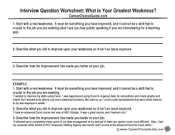 The interview weaknesses question causes stress for almost everyone. Here's  how to answer that question
