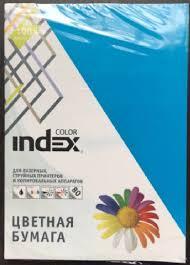 "<b>Бумага цветная</b> ""<b>Index Color</b>"", А4, 80 г/м2, 100 листов, ярко-синий ..."