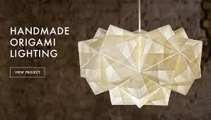 Paper lighting Product Design Foldability Origami Lighting Design Instructables Foldability
