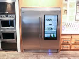 fridge makes its glass door