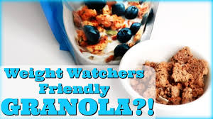 weight watchers friendly granola weight watchers food finds