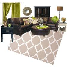 brown green living room image of brown furniture with green painted walls sage green and brown