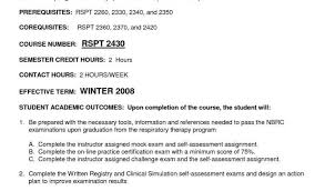 Respiratory Therapist Resume Templates Or Cover Letter Respiratory