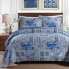 Aliexpress.com : Buy CHAUSUB New Quality Quilt Set 3PCS Washed ... & CHAUSUB New Quality Quilt Set 3PCS Washed Cotton Quilts Quilted Bedspread  Cover Bed Sheets Pillowcase Coverlet Adamdwight.com