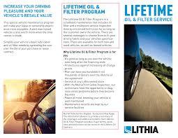 vehicles maintenance records lifetime oil carson nissan