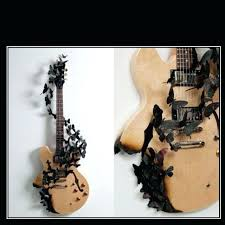 decorative guitar wall mount guitar wall mount ideas would make such a cool wall mounted decoration decorative guitar wall mount