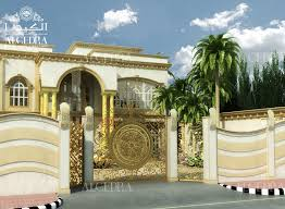 Small Picture Boundary Wall Designs Home Exterior Design Services ALGEDRA