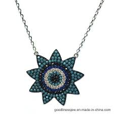 China <b>S925 Silver Necklace</b> with The Evil Eye (N6868) - China ...