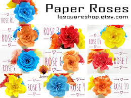 Free peony flower vector download in ai, svg, eps and cdr. 40 Rose Paper Flower Templates Graphic By Lasquare Info Creative Fabrica