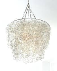 capiz chandelier 3 light west elm gold capiz chandelier