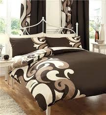 unusual king size duvet covers king size duvet set chocolate brown cream swirl king size quilt