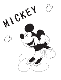 Small Picture Free Printable Coloring Pages Mickey Mouse Coloring Home