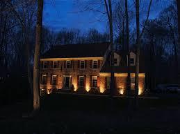 house outdoor lighting ideas. Landscape:Landscaping Lighting Ideas Low Voltage Led Outdoor Yellow Warm Light Energy Efficient Bulb House T