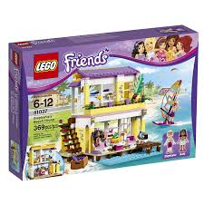lego friends 41037 stephanie s beach house at low s in india amazon in