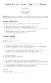 Awesome Credit Specialist Resume Gallery - Simple resume Office .