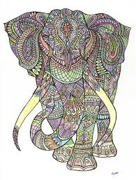 elephant aztec pattern detail art ines fischer 46 best drawing images on hand drawings aztec