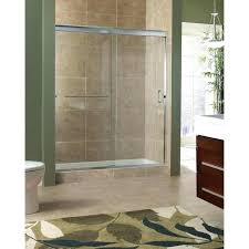 interesting sliding glass door shower stylish bathroom