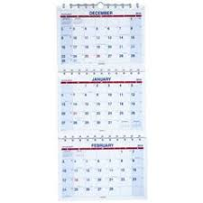 At A Glance 3 Month Calendar At A Glance Pmlf11 28 2019 Move A Page 3 Month Wall Calendar 12 X