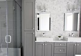 Backsplash for bathroom Mirror Grey Cabinets Nice Bathroom Backsplash Interior Ideas Next Luxury Top 70 Best Bathroom Backsplash Ideas Sink Wall Designs
