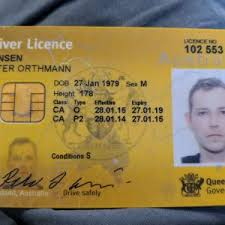 Notes Australian Archives Counterfeits Driver's License - Unregistered Fast