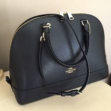 COACH SIERRA SATCHEL-Black NEW w Tag