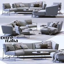 lennox armchair. lennox sofa and kyo armchair 3d model max obj fbx 1