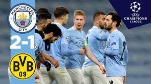 HIGHLIGHTS | Man City v Dortmund | DE BRUYNE, REUS, FODEN | UCL Quarter  final 1st leg - YouTube