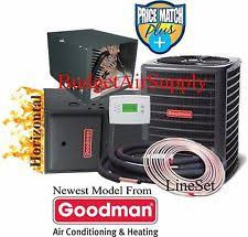 goodman 96 furnace. 4 ton goodman 14 seer 96% 120k btu gas furnace horizontal gmss961205dn+50ft line 96