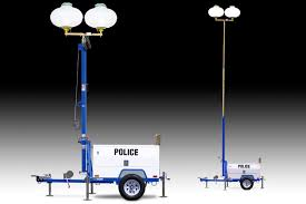 Portable Light Carts Diesel Light Towers For Public Safety Wanco Inc