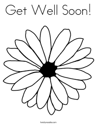 Feel Better Soon Coloring Pages At Getdrawingscom Free For
