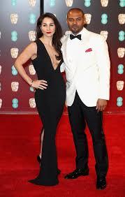 Iris Da-Silva and Noel Clarke | Celebrity Couples at the BAFTA Awards 2017  | POPSUGAR Celebrity UK Photo 13