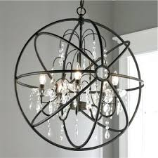 pictures gallery of wonderful crystal and metal orb chandelier large round wooden with detail wood lar
