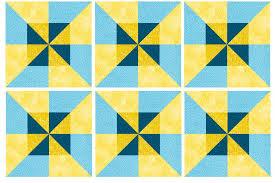 Easy Double Pinwheel Quilt Block Pattern &  Adamdwight.com