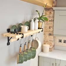 6 lath kitchen shelf rack shelf racks iron pan racks kitchen pot racks