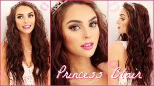 blair waldorf pink wedding makeup wavy hair tutorial gossip inspired you