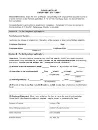 florida self employment form fill