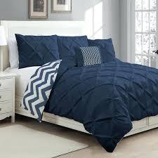 esy reversible pintuck printed 3 piece duvet set by duck river textile hayneedle navy blue pintuck