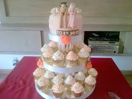 8 Tema Wedding Cake Cupcakes Paling Unik Romantis