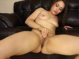 White Girl Rubbing Her Pussy