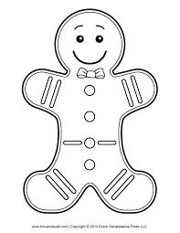 Gingerbread Man Drawing Template 927 x 1200 133 kb jpeg christmas ...
