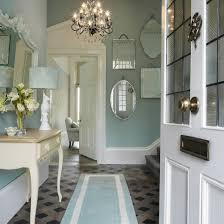Such a beautiful entry Laura Ashley hallway of dreams with dark.