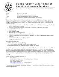 22 Cover Letter For Rfp Rfp Response Cover Letter Format