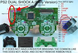 playstation 2 controller to usb wiring diagram wiring diagram ps2 controller wiring diagram usb schematics and diagrams