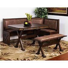 dining nook furniture. sunny designs 0222ac savannah breakfast nook set w side bench dining furniture p