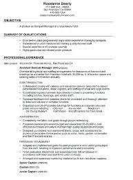 Caterer Resume Banquet Manager Resume Sample Banquet Manager Resume This Is A