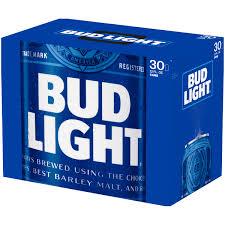 12 Pack Bud Light Bottles Bud Light 30 Pack 12oz Cans