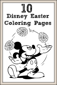 Top 10 Free Printable Disney Easter Coloring Pages Online Disney